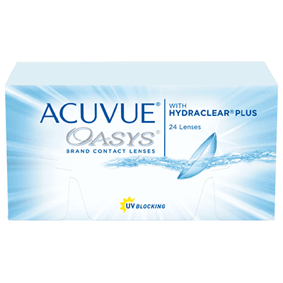 Линзы контактные acuvue oasys with hydraclear plus d-14,00 bc 8,4 -2,25 №6